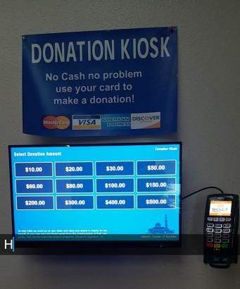 Donation kiosk